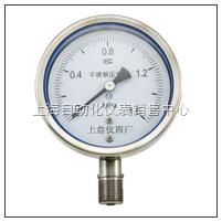 不锈钢耐震压力表 Y-100BFZ