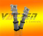氣動不銹鋼刀型閘閥;氣動鑄鋼插板閥
