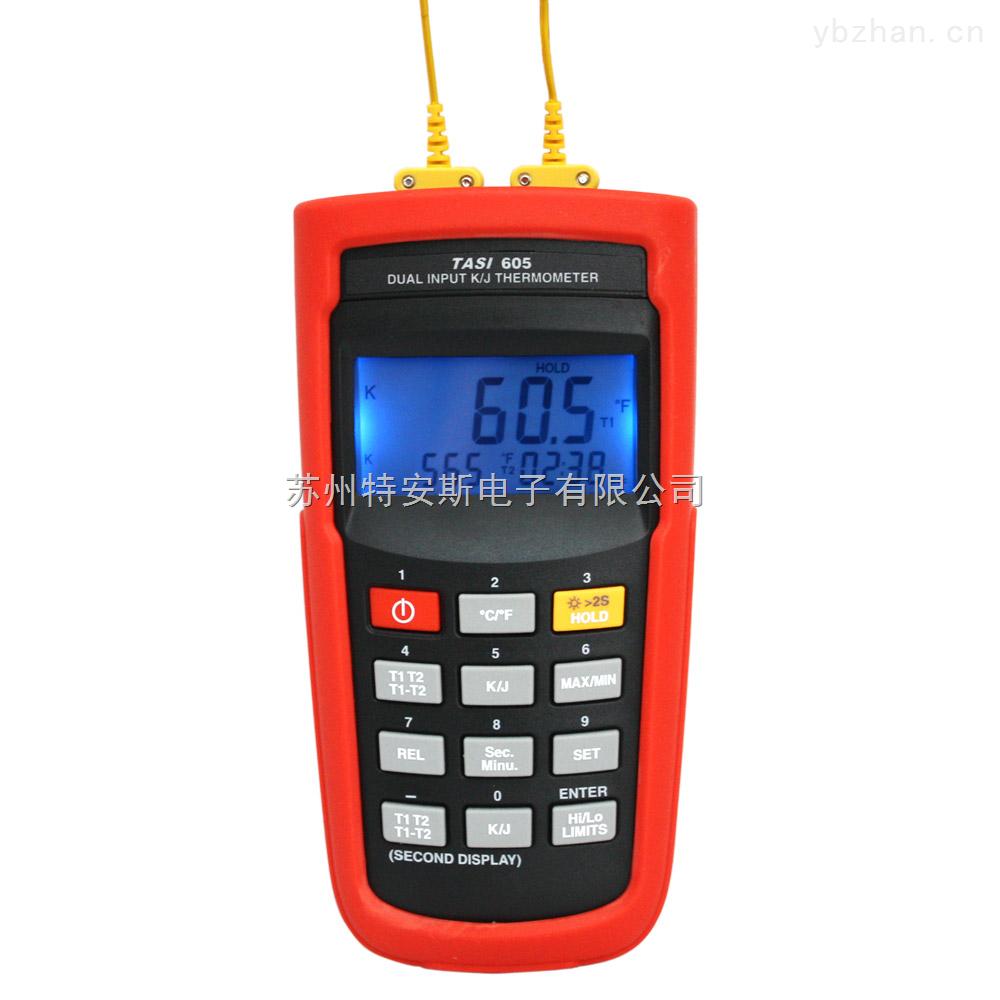 特安斯TASI-605 K/J型数字温度计 -200~1370℃ K/J-type Digital Thermometer