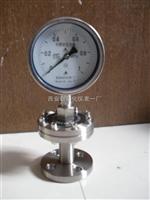 YTPF,隔膜压力表,不锈钢耐震隔膜压力表