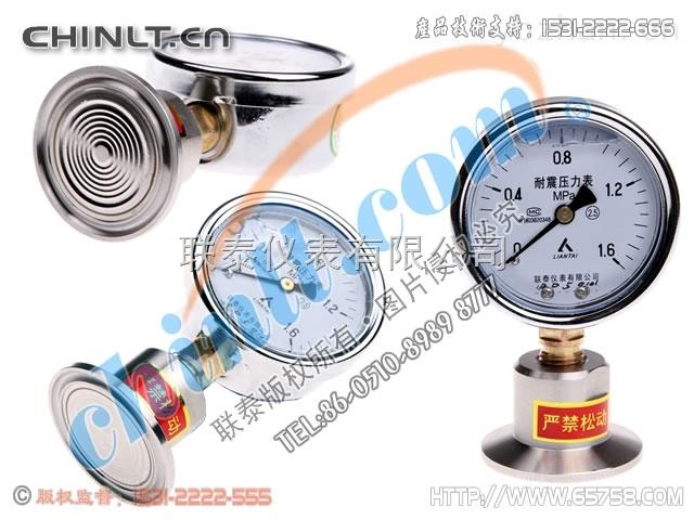 YTN60/MC(低壓) 衛生型耐震隔膜壓力表