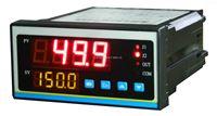 可以显示两路数显的压力控制表,压力显示仪表/4-20MA输入压力数显表
