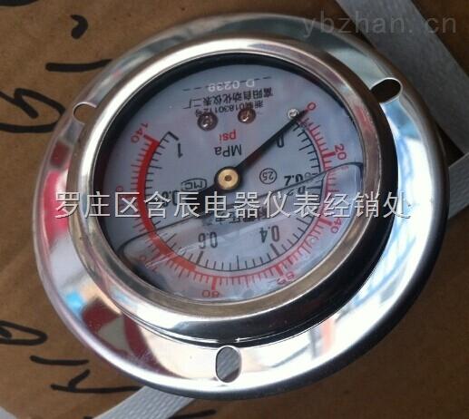 富阳自动化仪表YN100耐震压力表
