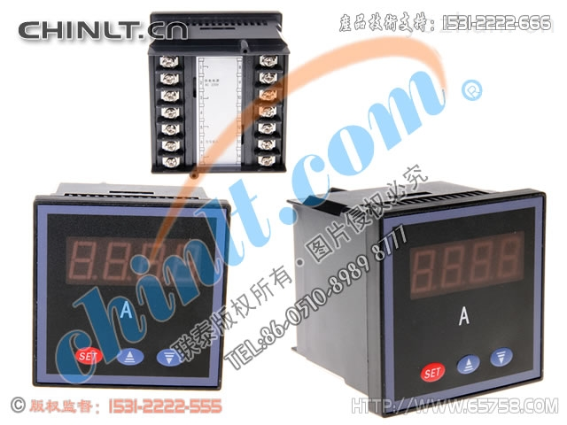 SX72-SX72J-ACI 數顯可編程單相交流電流表