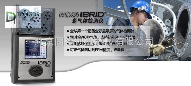 多氣體檢測儀/便攜式復合氣體報警儀MX6 iBrid