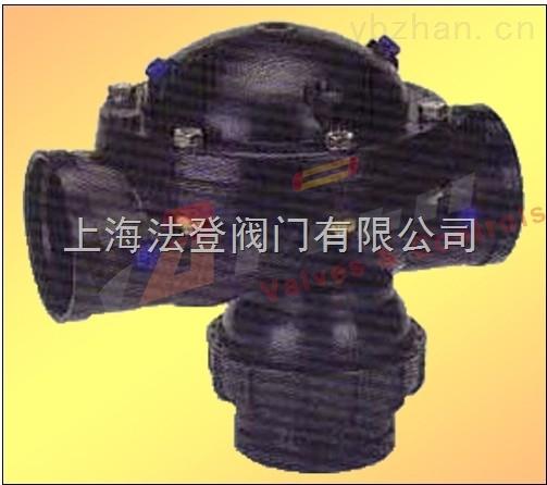 58P-多若特三通塑料反沖洗閥 DOROT多諾特塑料三通隔膜閥