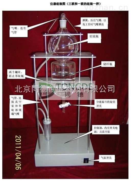 全自动射流萃取器/CCQ-3