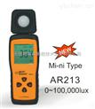 AR213迷你式光照度计