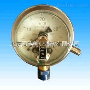 耐震电接点压力表(不锈钢)