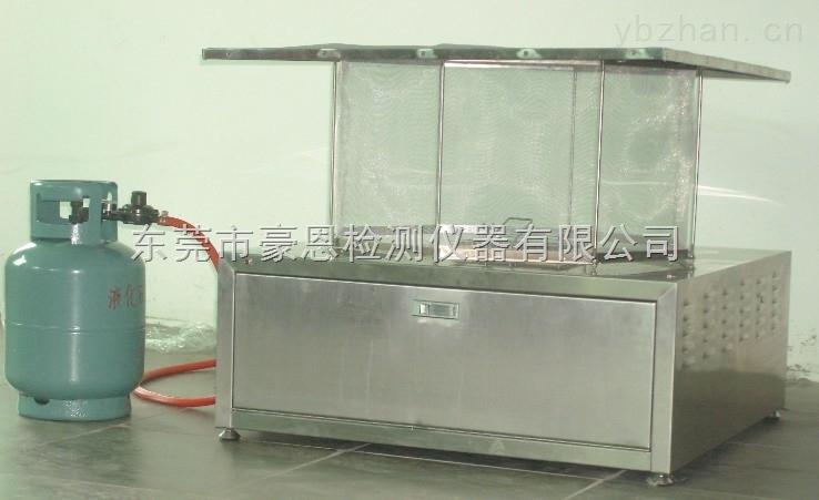 电池燃烧颗粒测试装置