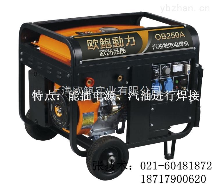 内燃氩弧焊发电电焊机OB250AY