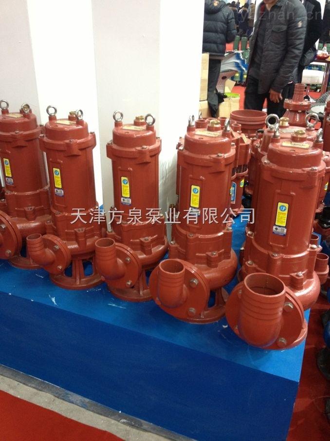 天津潜水排污泵/天津自动搅匀式排污泵