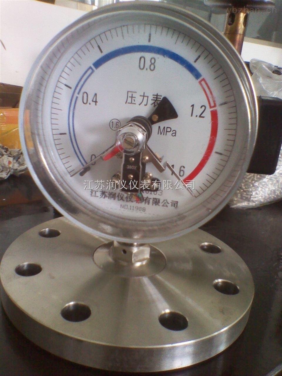 YXC电接点隔膜压力表