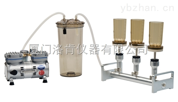 进口三联换膜过滤器BioVac321A三联换膜过滤装置 铝制三联式过滤器
