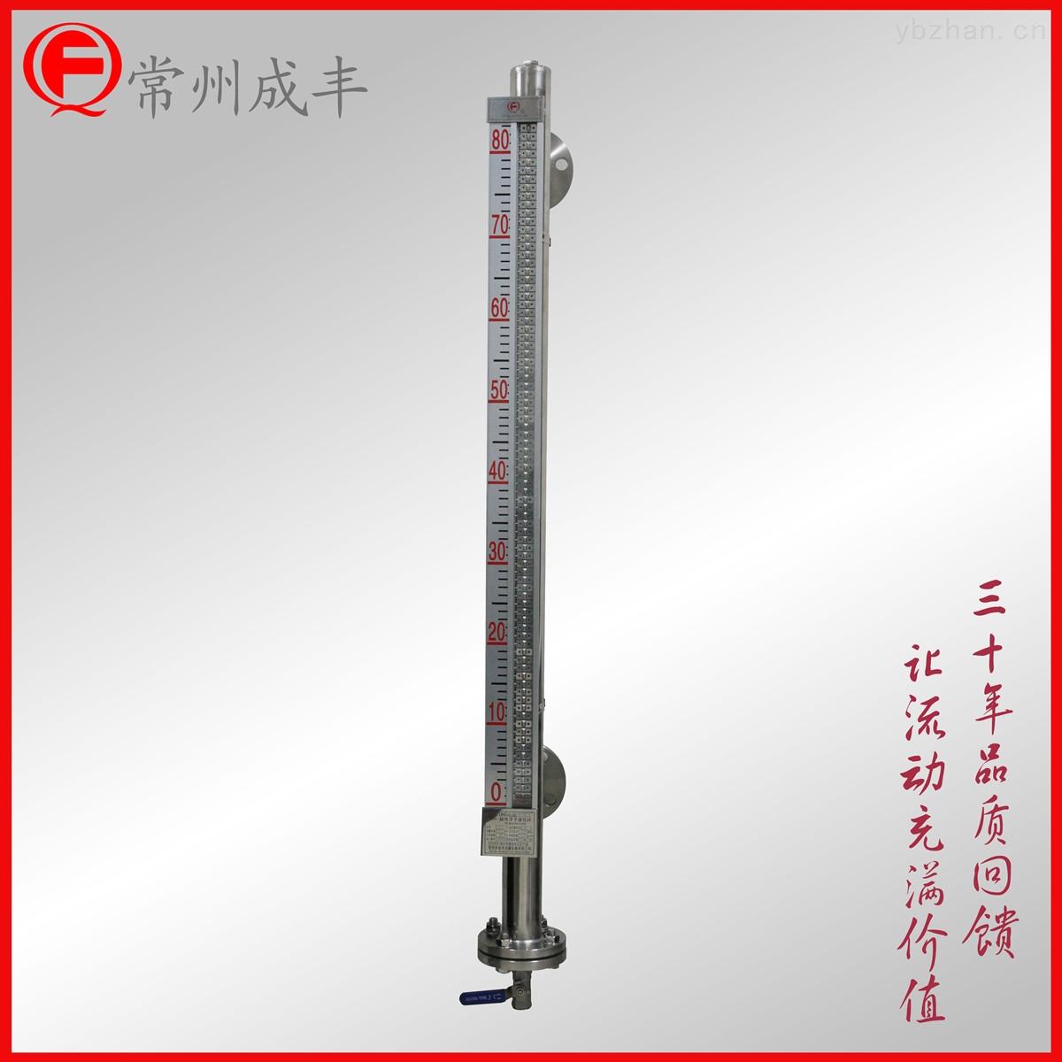成丰仪表液位计 磁翻板显示可带4-20mA输出