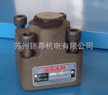 新老携手多举绩台湾SSAN管式单向阀CIT-04上研原装正品