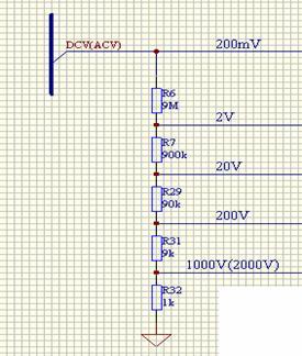 自动量程万用表设计方案[图]