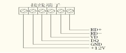 接线端子示意图