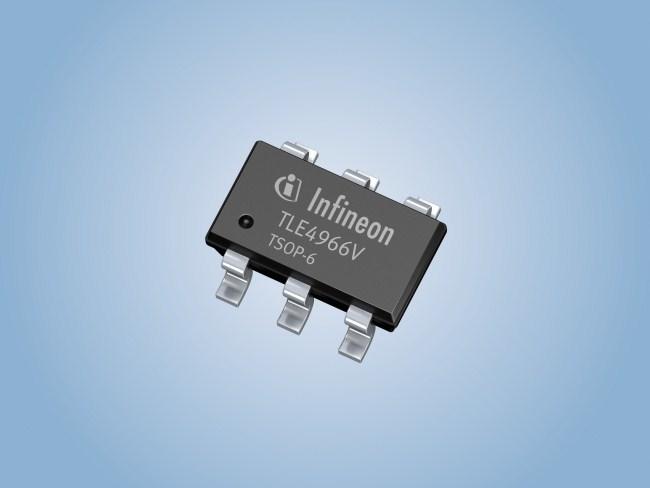 霍尔传感器tle4966v,标志着英飞凌在传感器产品创新领域又迈出重要一