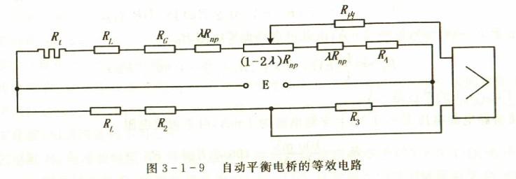 自动平衡电桥测量电路的设计计算_热电阻_使用指南