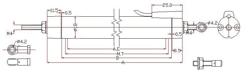 kpm-拉杆位移传感器/kpm直线位移传感器