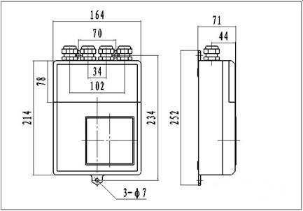 电磁流量计的转换器使用-安装图