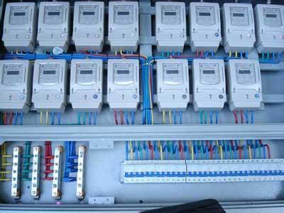200千瓦光伏双向电表接线图