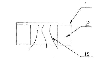 压阻敏感组件的剖面结构示意图