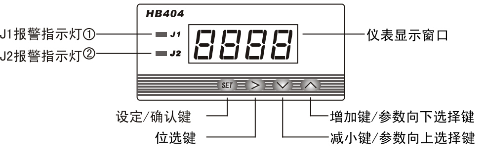 hb404t-a 智能交/直流电流表